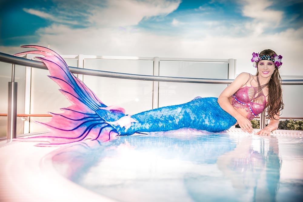 Arbeiten als Meerjungfrauenmodel