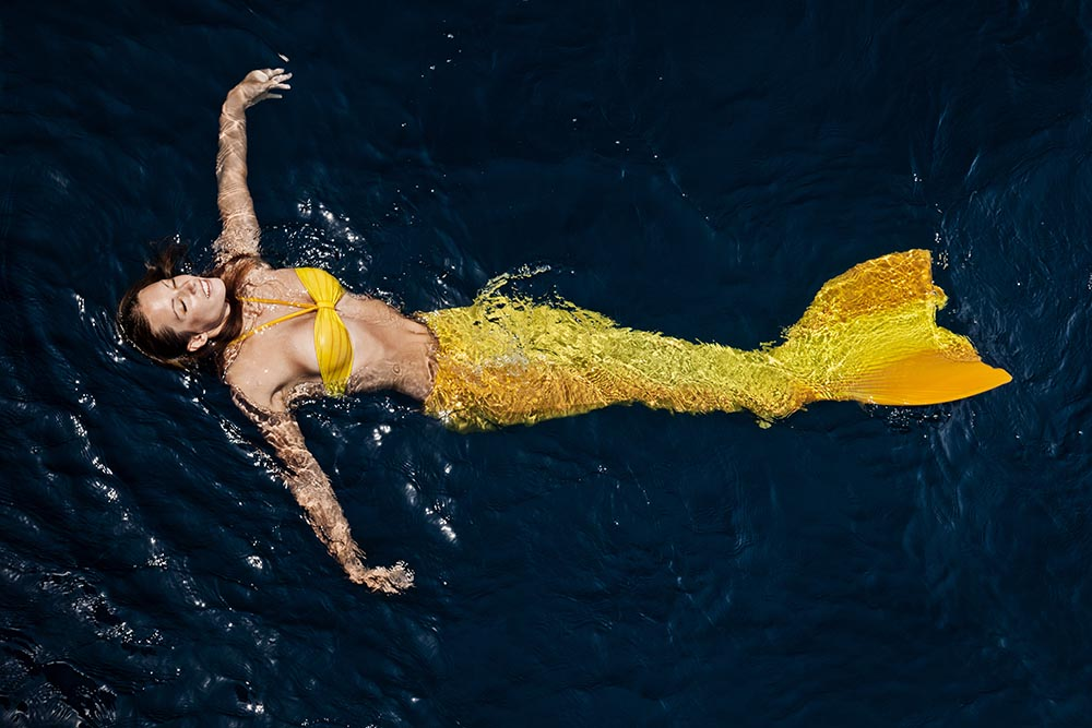 Katrin Gray ist professionelle Meerjungfrau