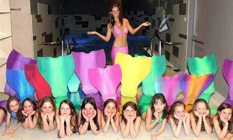 Werde eine Meerjungfrau in unserer Meerjungfrauenschule