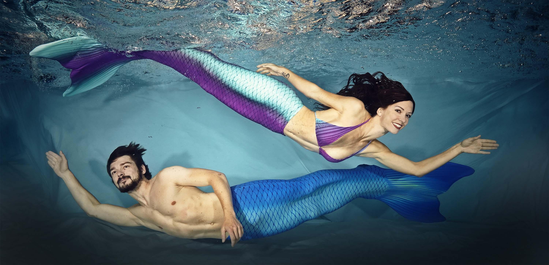 Meerjungfrauenkurse Meerjungfrauenschwimmen Meerjungfrauenschule