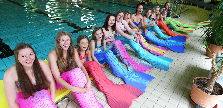 Mermaiding Meerjungfrauenschule