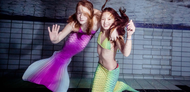 Mermaiding für Kinder Meerjungfrauenkurse