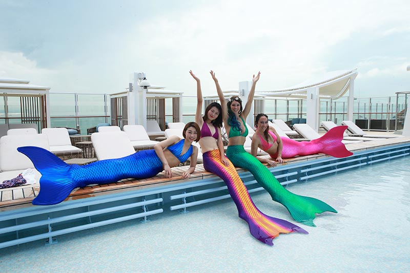 Meerjungfrauenkurs für Erwachsene