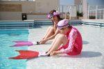 Meerjungfrauenschwimmen für Kinder