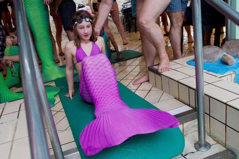 Mermaiding für Kinder in Potsdam