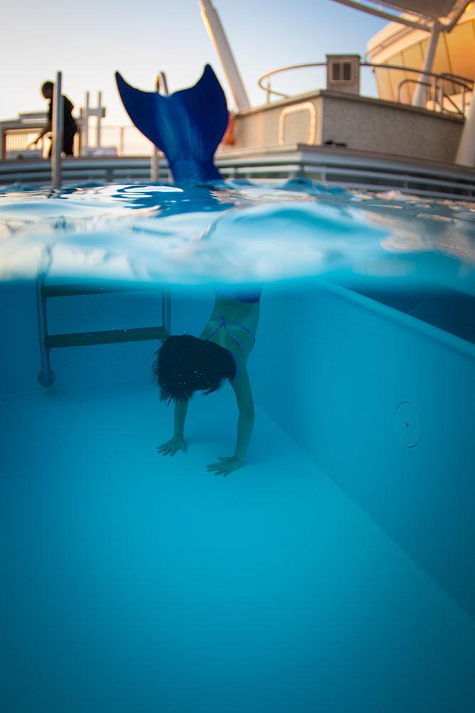 Meerjungfrauenschule, Meerjungfrauenschwimmen