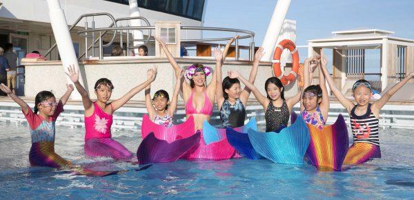 Meerjungfrauenschwimmen, Mermaiding, Meerjungfrauenschule