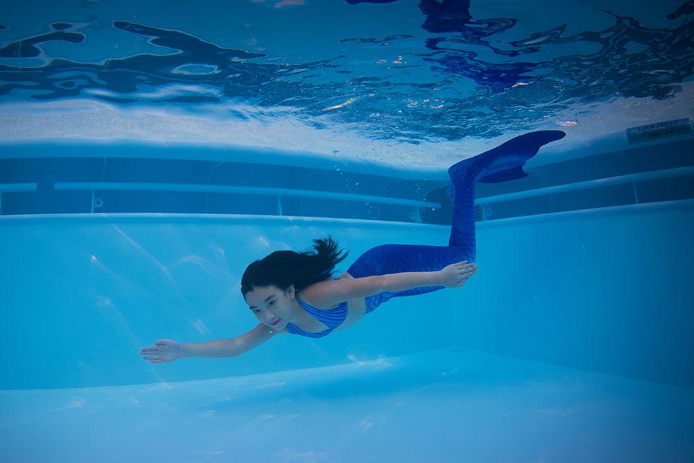 Mermaiding, Meerjungfrauenkurs, Meerjungfrauenschule