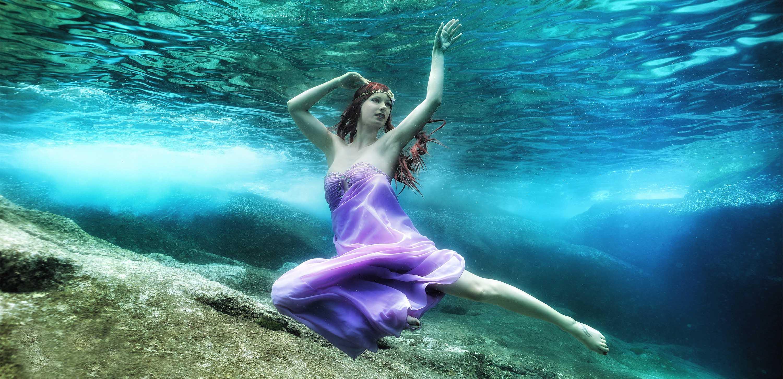 Unterwassermodel und Meerjungfrau Katrin Gray