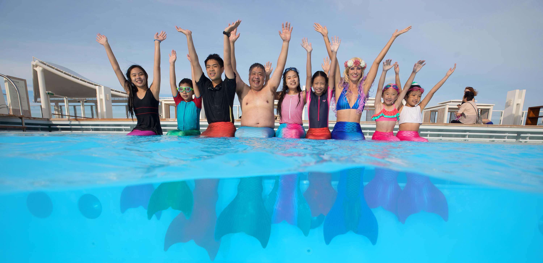 Komm zu unserer Meerjungfrauen-Akademie