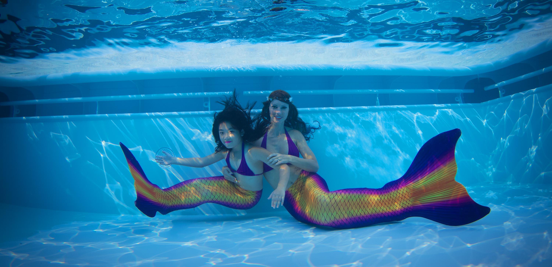 Mermaiding für Kinder und Erwachsene