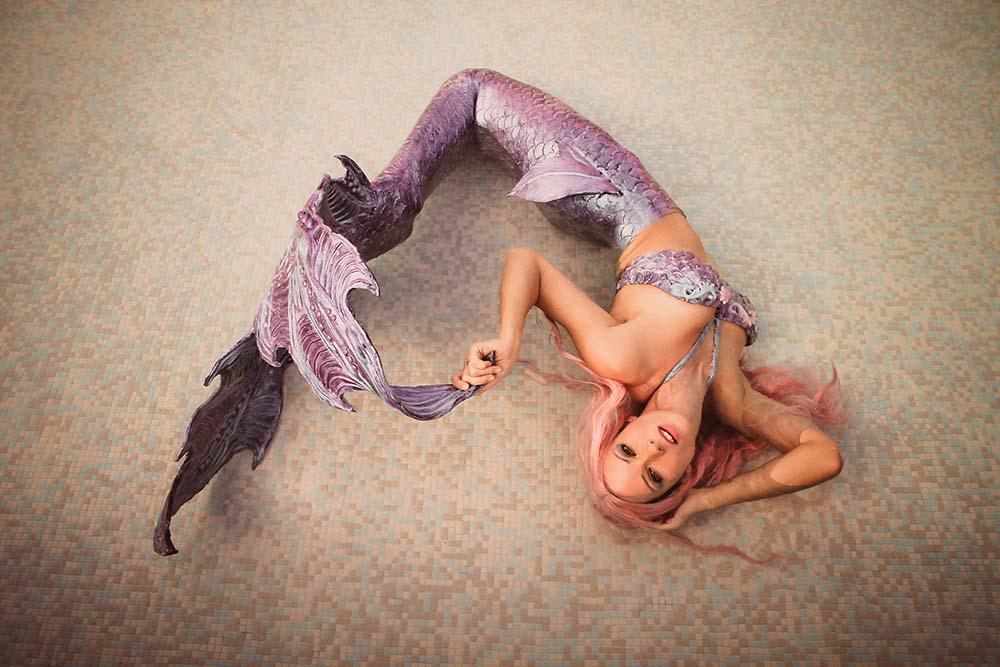 Beruf Meerjungfrau - Katrin Gray arbeitet als Nixe