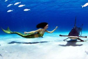 Katrin Gray ist professionalle Meerjungfrau