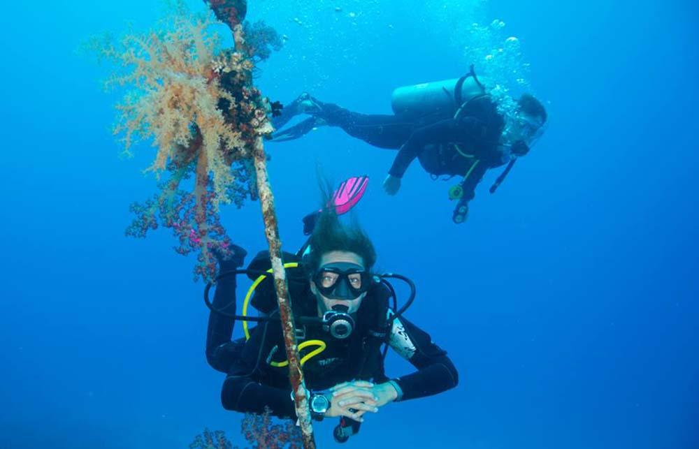 Sicherheit in Meerjungfrauenschwimmkursen