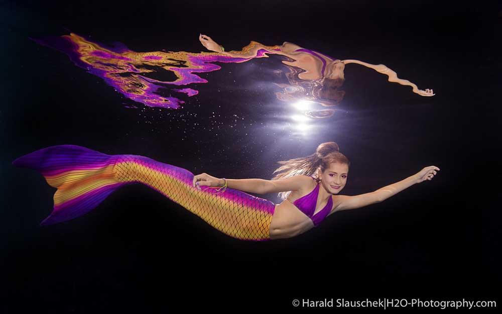 Unterwasser Meerjungfrauen Fotos Hildesheim