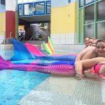 Wir sind eine Meerjungfrauenschule kein Meerjungfrauen-Club