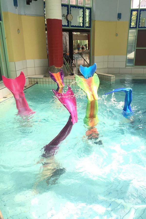 Wir sind kein Meerjungfrauen-Club aber eine Meerjungfrauenschule