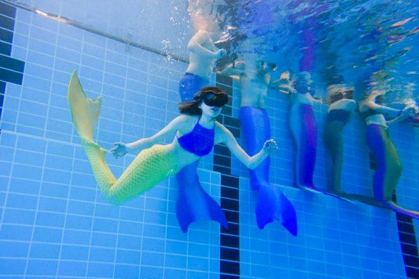 Fürstenwalde, Berlin, Frankfurt oder Meerjungfrauen-Schwimmkurse