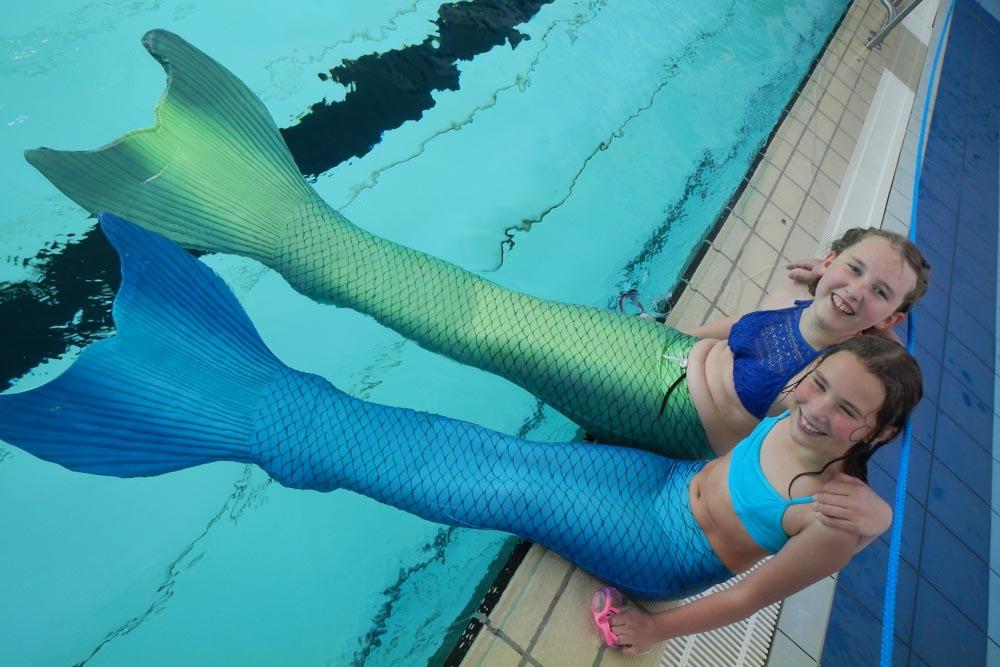 Mermaiding in Bayern