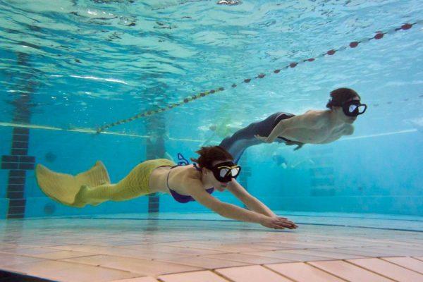 Königsberg in Bayern bietet Mermaiding-Kurse an