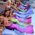 Meerjungfrauen-Verein bei uns wirst du zur Nixe