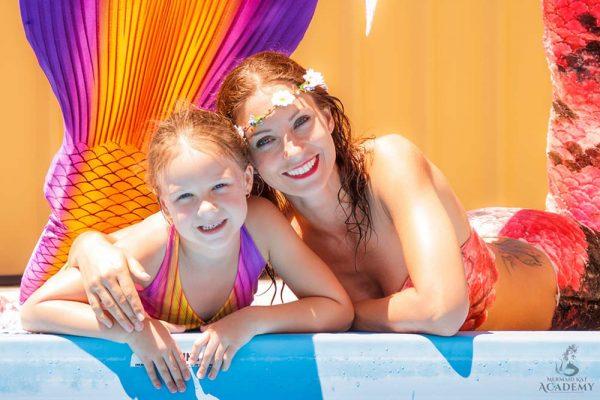 Meerjungfrauen-Verein komm zur Meerjungfrauenschule