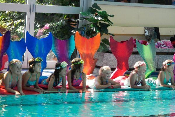 Meerjungfrauenschwimmen in Lehrte bei Hannover