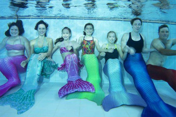 Werde eine Meerjungfrau - Meerjungfrauen-Verein
