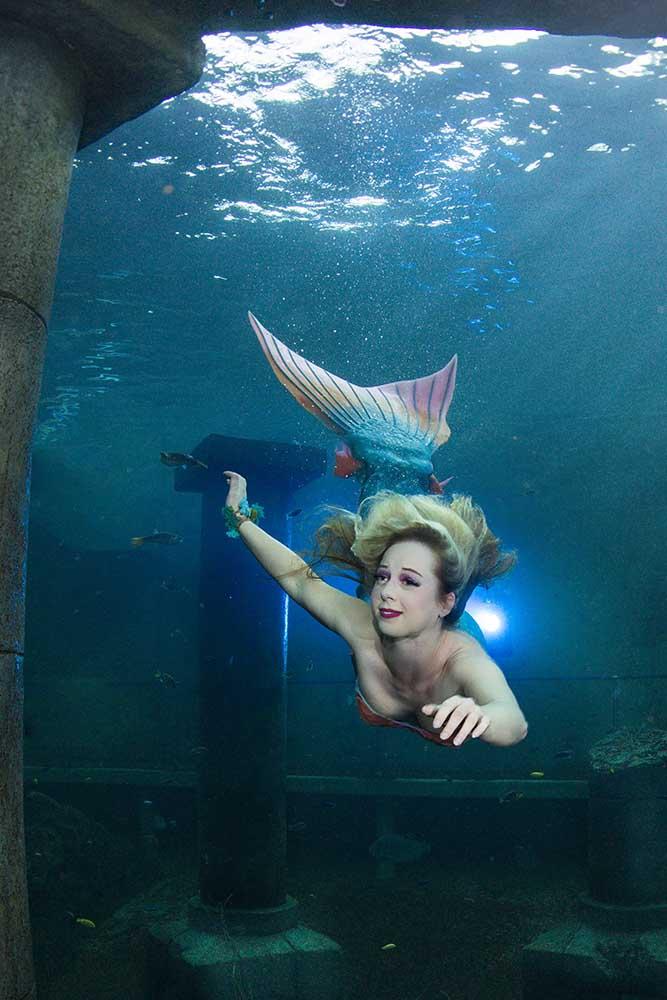 Jessi ist Meerjungfrau in Niedersachsen