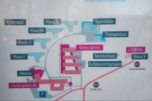 Lageplan Meerjungfrauenschwimmen Potsdam