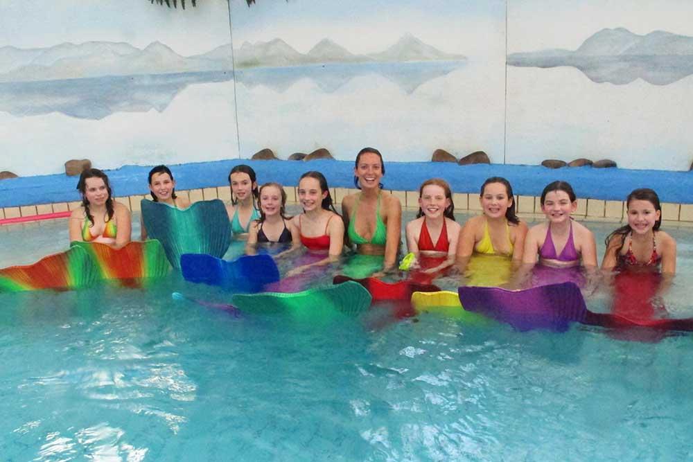 Lerne zu schwimmen wie Arielle die Meerjungfrau