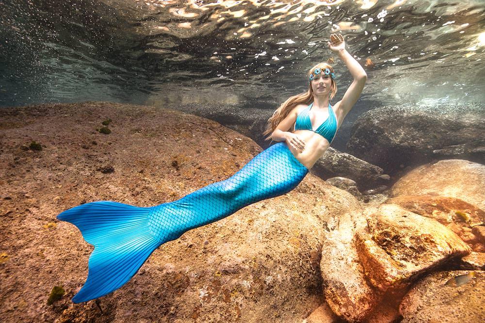 Schwimme wie Arielle die Meerjungfrau - Mermaid Kat Shop
