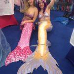 Meerjungfrauenflossen Boot Düsseldorf Wassernixen