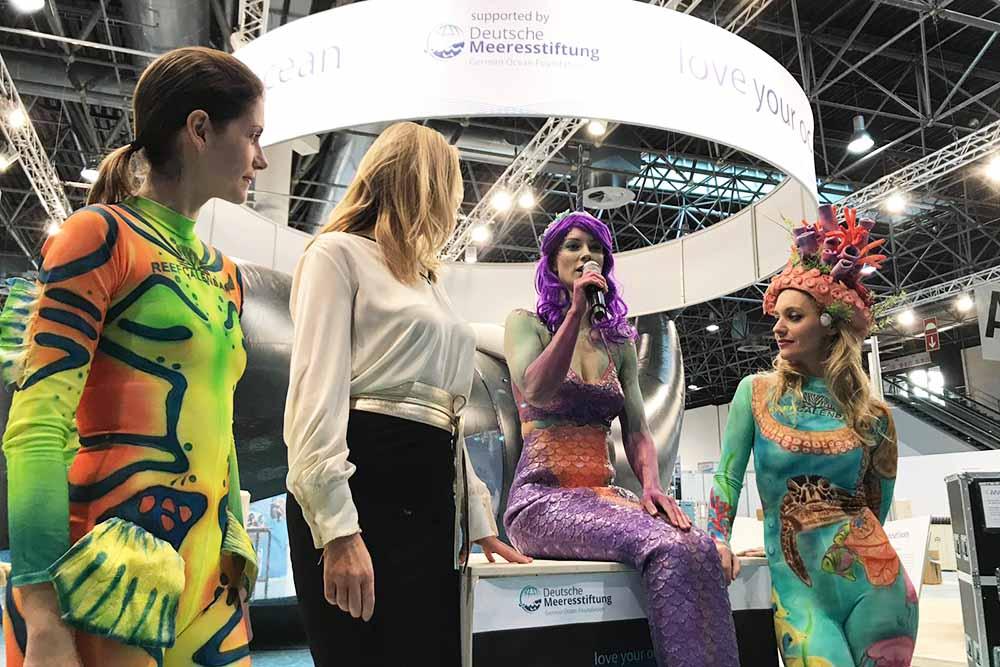 Nixe Mermaid Kat unterstützt die Deitsche Meeresstiftung