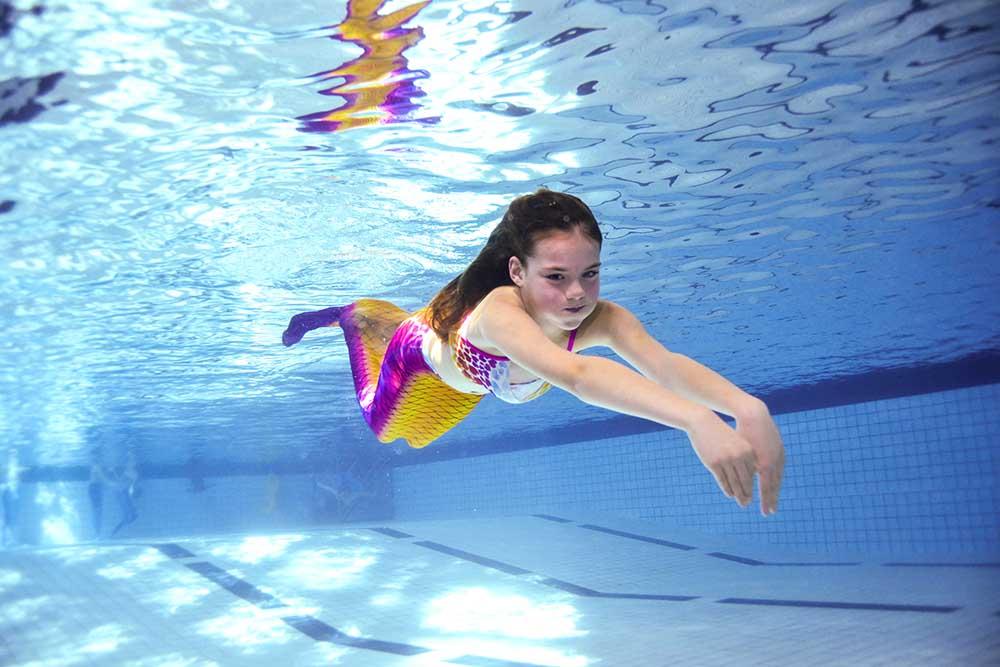 Meerjungfrauenkurse für Kinder
