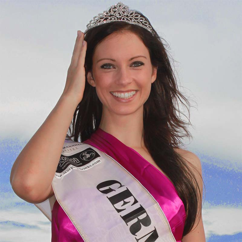 Miss Deutschland International Mermaid Kat Katrin Gray