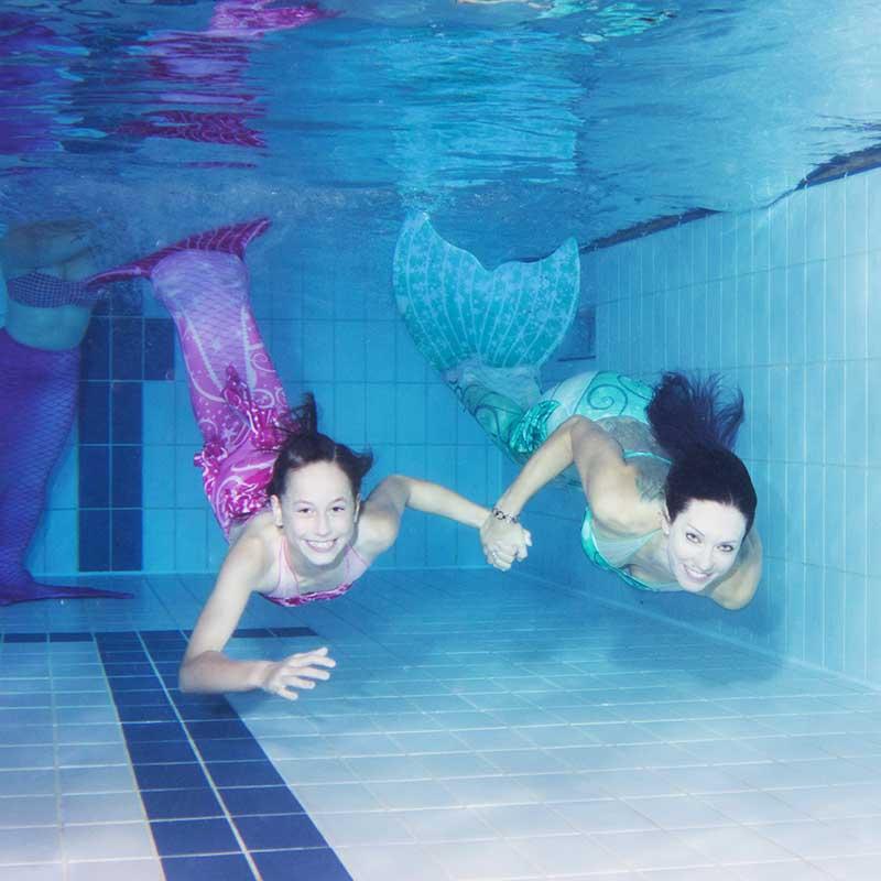 Darmstadt Meerjungfrauenschwimmen in Hessen