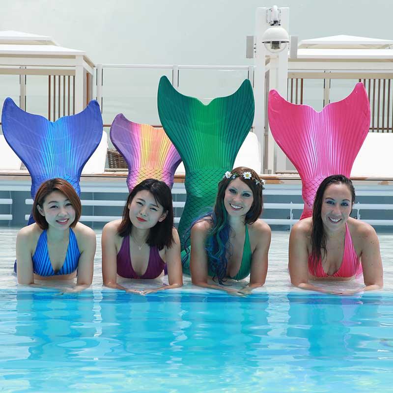 Mermaiding-Kurse Erwachsene Hessen