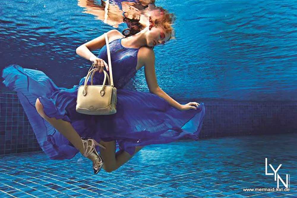 Unterwassermodel Katrin Gray alias Mermaid Kat