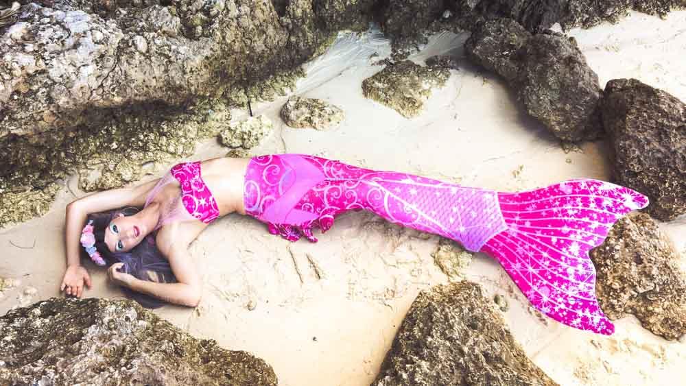 Meerjungfrauen-Reise auf die Malediven