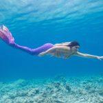 Lübecker Meerjungfrau Lille bei der Mermaid Week Malediven 2019