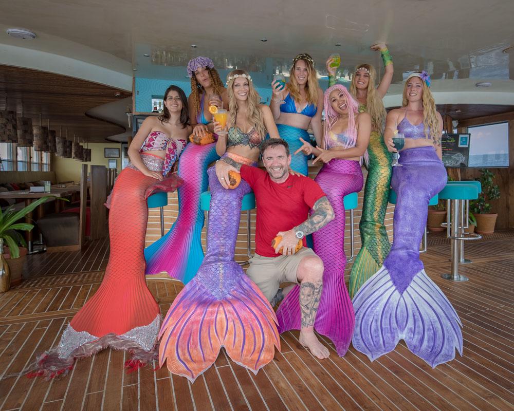 Meerjungfrauen mit Fotograf Ian Gray