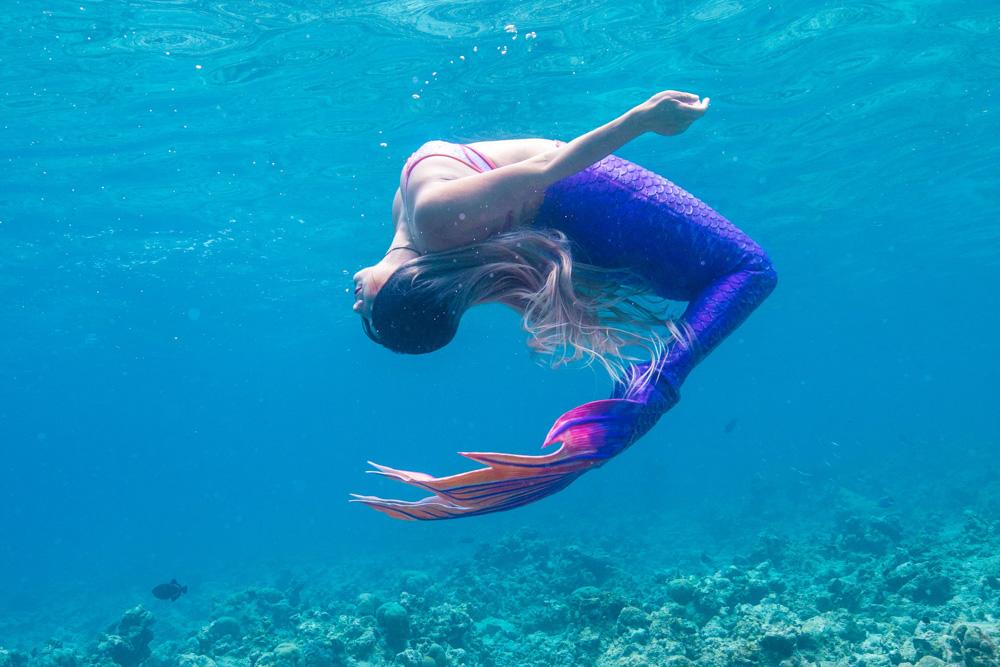 Meerjungfrauenkurse für Erwachsene