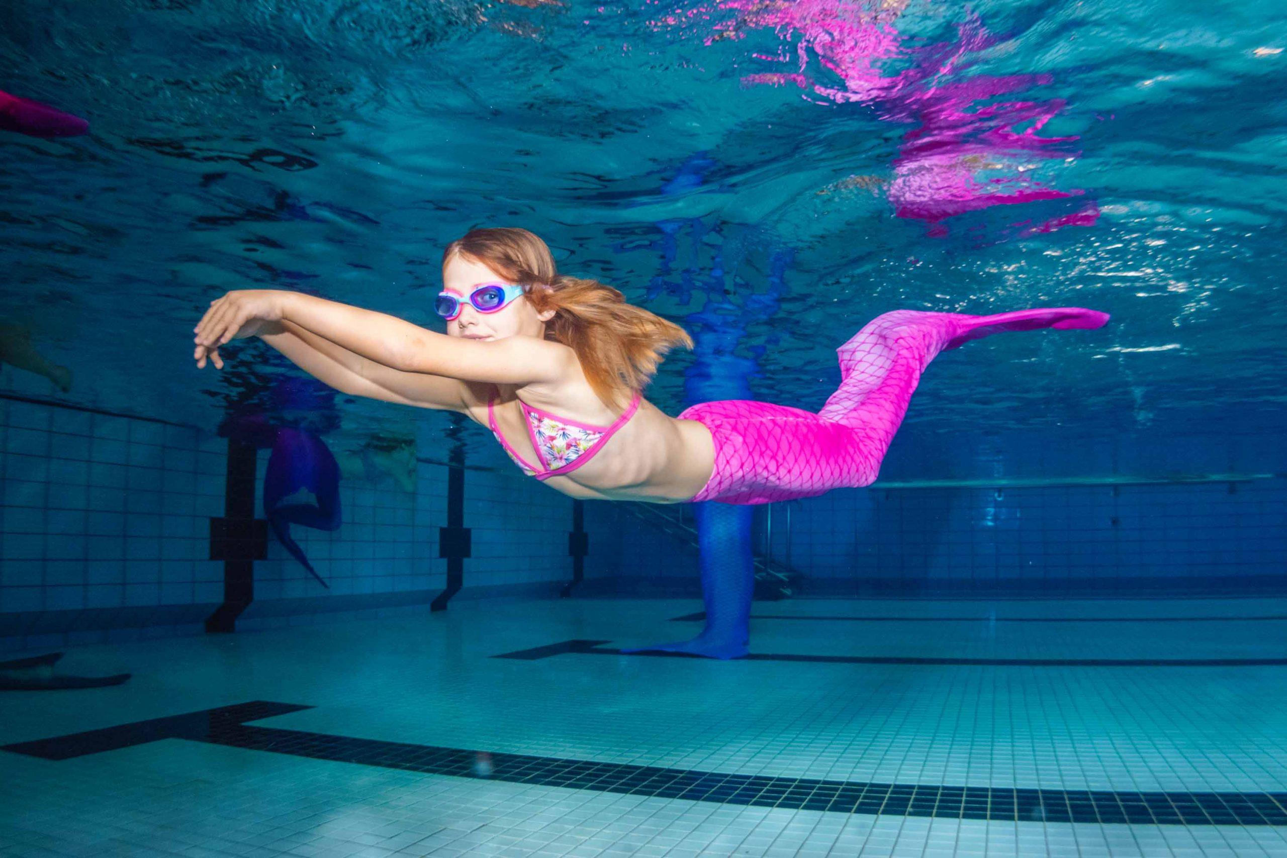Dresden - Meerjungfrauen Schwimmen in Sachsen