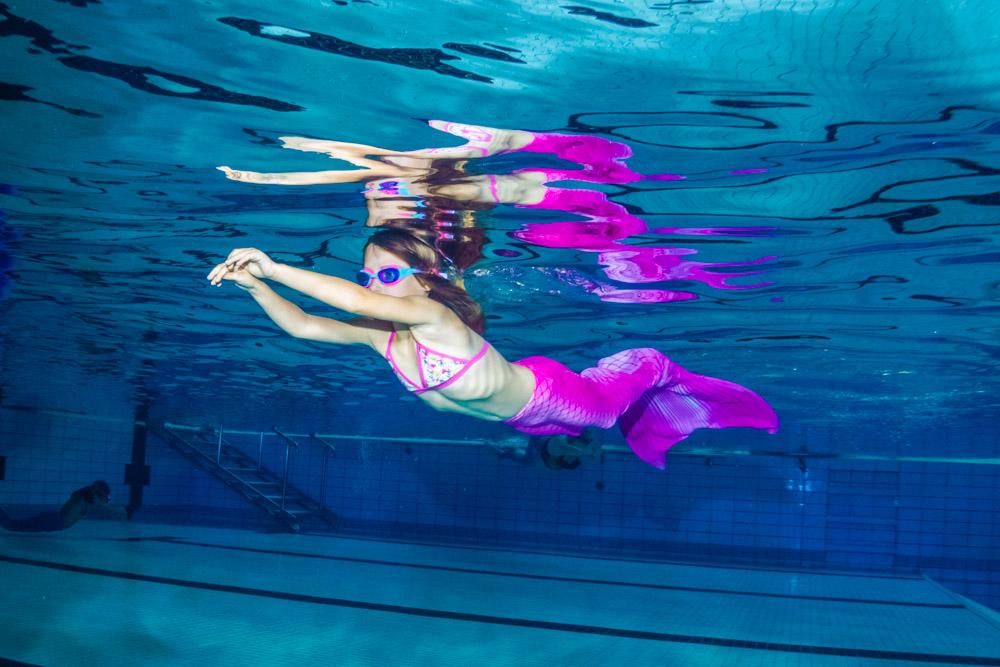 In Sachsen Mermaiding Kurse