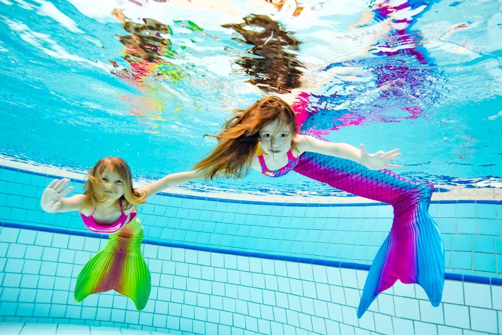 Mermaid Schwimmen in Lübeck