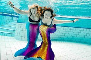 Meerjungfrauen Schwimmen in Sachsen