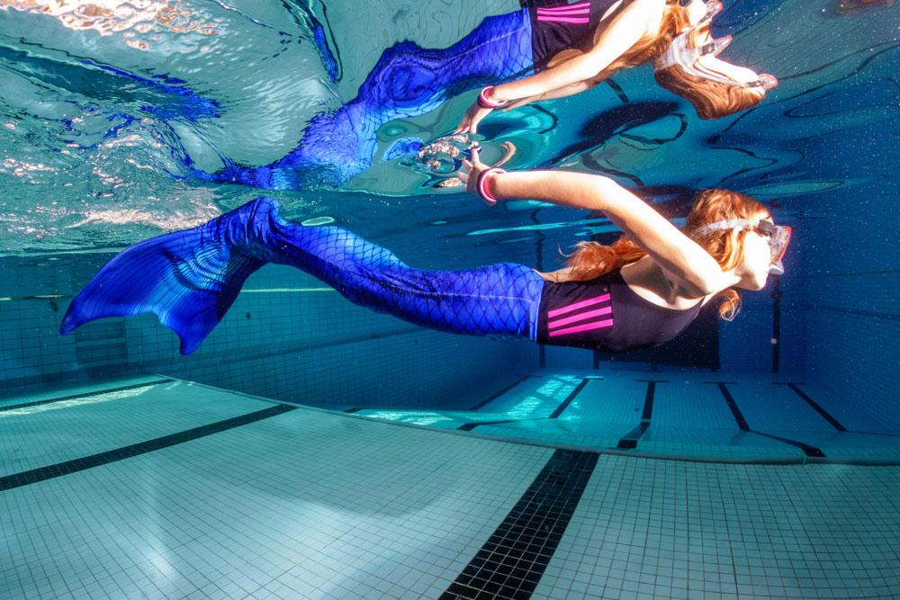 Meerjungfrauenschwimmkurse Dresden