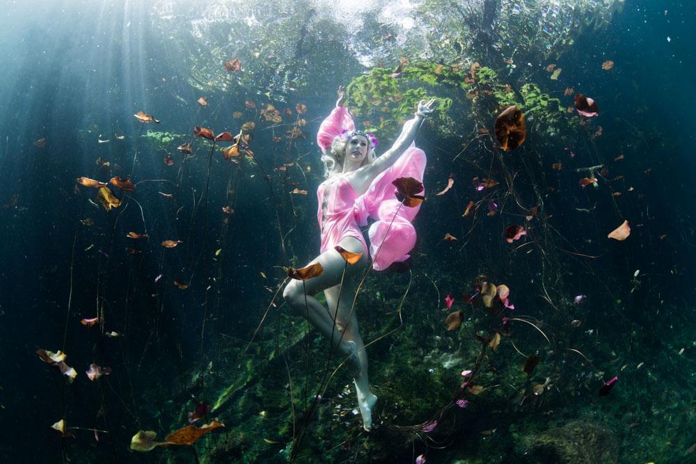 Unterwassershooting in Tulum - Mexiko