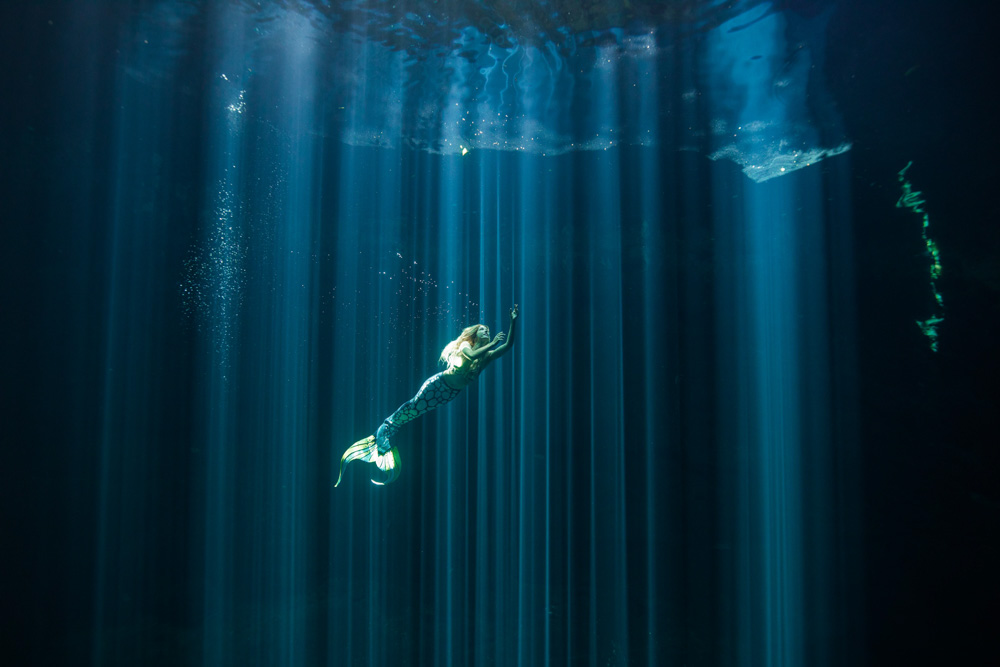 Werde eine Meerjungfrau in Mexiko